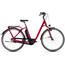 Cube Town Hybrid Pro 400 - Bicicletas eléctricas de trekking - Easy Entry rojo